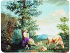 Pastoral Scene   Fedor Tolstoy   Oil Painting