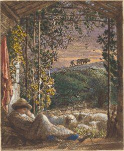 The Sleeping Shepherd | Samuel Palmer | Oil Painting