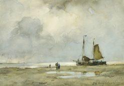Strandgezicht | Jan Weissenbruch | Oil Painting