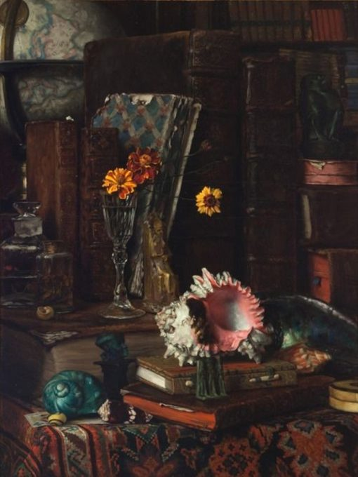 Still Life with Shells | James Tissot | Oil Painting