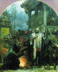 Alexander Nevsky Visits the Orda | Hendryk Siemiradzki | Oil Painting