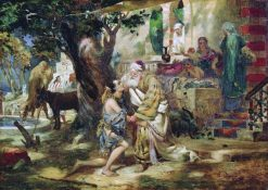 The Prodigal Son | Hendryk Siemiradzki | Oil Painting