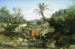 Exotic Landscape | Hendryk Siemiradzki | Oil Painting