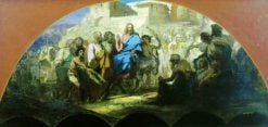 Christs Entry into Jerusalem | Hendryk Siemiradzki | Oil Painting