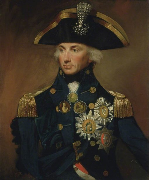 Rear-Admiral Sir Horatio Nelson | Lemuel Francis Abbott | Oil Painting