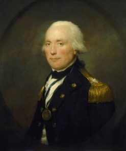 Rear-Admiral Sir Robert Calder | Lemuel Francis Abbott | Oil Painting