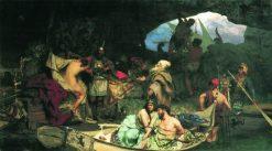 Pirates   Hendryk Siemiradzki   Oil Painting
