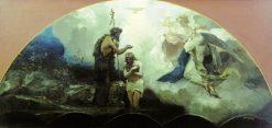 The Baptism of Christ | Hendryk Siemiradzki | Oil Painting
