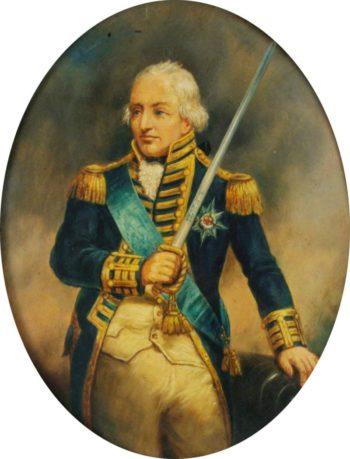 Admiral Earl St Vincent   Lemuel Francis Abbott   Oil Painting