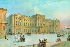 The Mariinsky Palace | Vasily Sadovnikov | Oil Painting