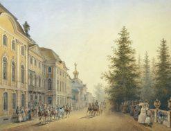 Peterhof Palace | Vasily Sadovnikov | Oil Painting