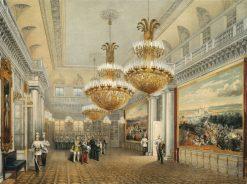 The Field Marshal Hall | Vasily Sadovnikov | Oil Painting