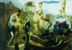 A Roman Beggar (study) | Hendryk Siemiradzki | Oil Painting