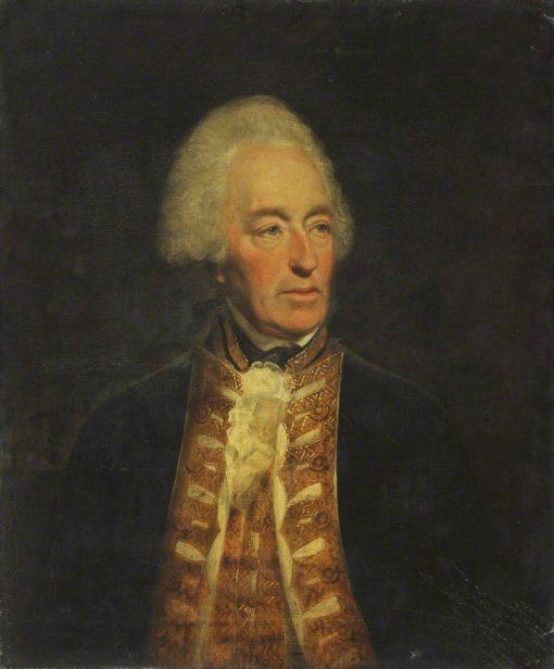 Admiral Robert Roddam | Lemuel Francis Abbott | Oil Painting