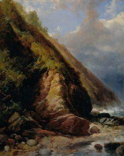 A Coast Scene | James Duffield Harding | Oil Painting