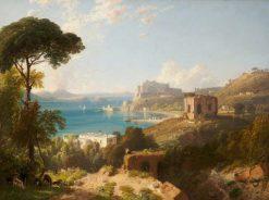An Italian Coast Scene | James Duffield Harding | Oil Painting