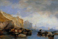 Coastal Scene | James Duffield Harding | Oil Painting
