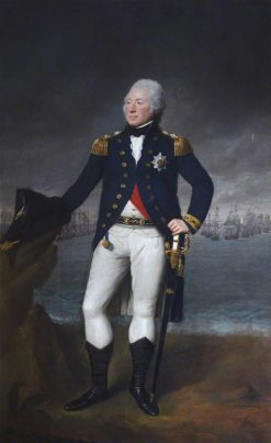 Admiral Sir Andrew Mitchell | Lemuel Francis Abbott | Oil Painting