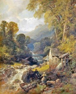 Water Mill | James Duffield Harding | Oil Painting