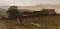 Landscape – Derbyshire | Georges Heming Mason | Oil Painting