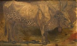 Roman Ox (Standing) | Georges Heming Mason | Oil Painting