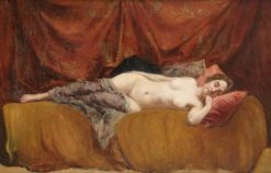 Sleeping Model | Gustave Maincent | Oil Painting