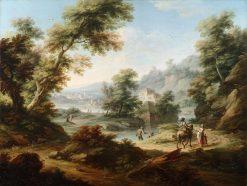 Landscape | Vittorio Amadeo Cignaroli | Oil Painting