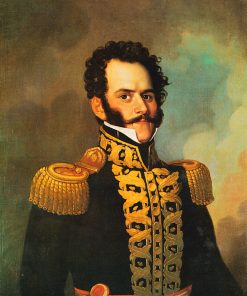 Portrait of Blas Cerdeña   Francis Martin Drexel   Oil Painting