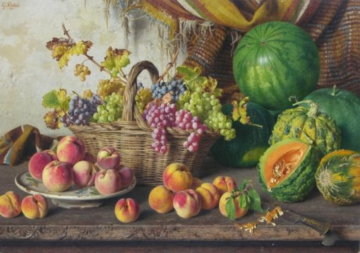 A Plentiful Harvest | Giorgio Lucchesi | Oil Painting