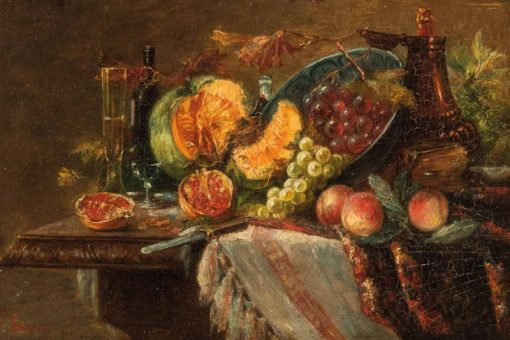 Still Life with Fruit | Giorgio Lucchesi | Oil Painting