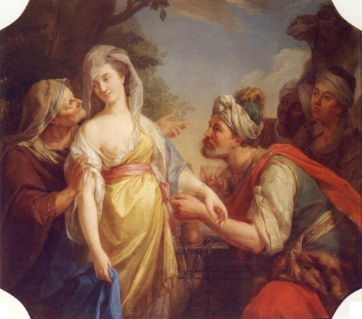Rebecca and Eleazar | Marcello Bacciarelli | Oil Painting