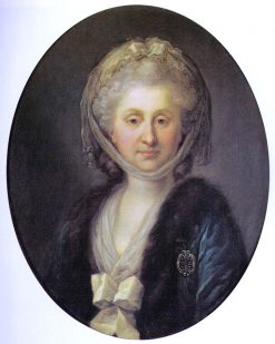 Portrait of Ludwika Zamoyska | Marcello Bacciarelli | Oil Painting