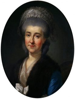 Portrait of Izabela Poniatowska | Marcello Bacciarelli | Oil Painting