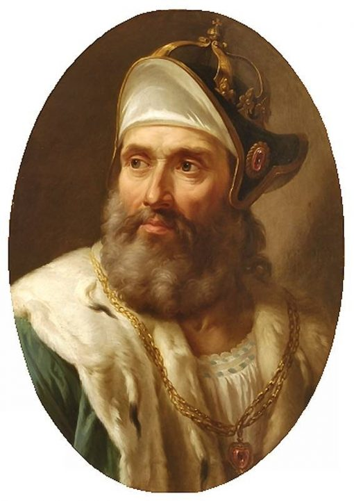 Portrait of Wenceslas II of Bohemia   Marcello Bacciarelli   Oil Painting