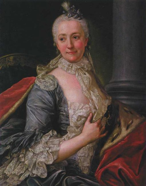 Portrait of Barbara Urszula Sanguszkowa   Marcello Bacciarelli   Oil Painting