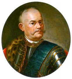 Portrait of Micha? Józef Rzewuski | Marcello Bacciarelli | Oil Painting