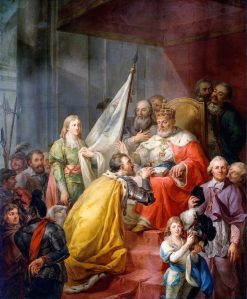 Prussian Homage   Marcello Bacciarelli   Oil Painting