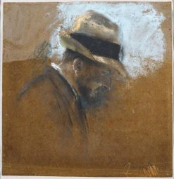 Alexandre Natanson Seen in Profile | Edouard Vuillard | Oil Painting