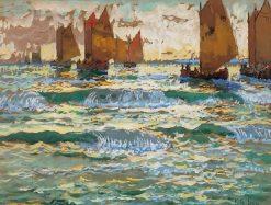 Capri | Konstantin Gorbatov | Oil Painting
