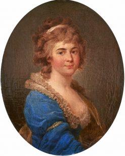 Portrait of Helena Radziwi?? nee Prze?dziecka | Marcello Bacciarelli | Oil Painting