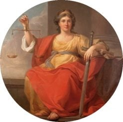 Allegory of Justice (Temida) | Marcello Bacciarelli | Oil Painting