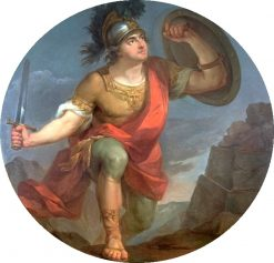 Allegory of Valor (Mars) | Marcello Bacciarelli | Oil Painting