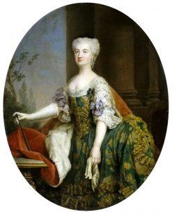 Portrait of Konstancja Czartoryska | Marcello Bacciarelli | Oil Painting