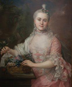 Portrait of Anna Szaniawska nee Scypion | Marcello Bacciarelli | Oil Painting