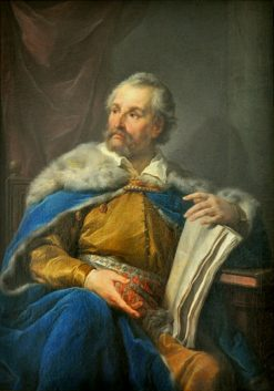 Portrait of Jan Zamoyski | Marcello Bacciarelli | Oil Painting