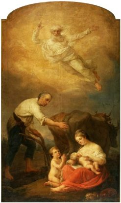 Saint Isidore - the Blessing of Work | Marcello Bacciarelli | Oil Painting