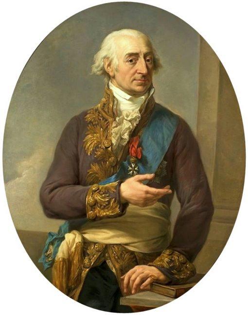 Portrait of Stanis?aw Ma?achowski | Marcello Bacciarelli | Oil Painting