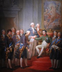 Granting of the Constitution of the Duchy of Warsaw by Napoleon | Marcello Bacciarelli | Oil Painting