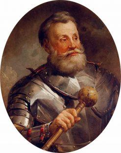 Portrait of Jan Karal Chadkievic | Marcello Bacciarelli | Oil Painting