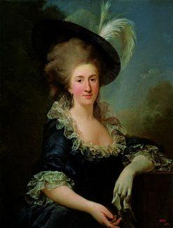 Portrait of Anna Teofila Potocka | Marcello Bacciarelli | Oil Painting